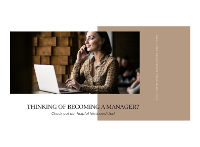 Thinking of Becoming a Manager?